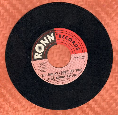 Taylor, Little Johnny - As Long As I Don't See You/Strange Bed With A Bad Head - NM9/ - 45 rpm Records