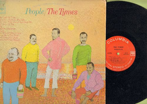 Tymes - People: For Love Of Ivy, Wichita Lineman, Those Were The Days, Make Someone Happy, God Bless The Child (Vinyl STEREO LP record) - NM9/EX8 - LP Records