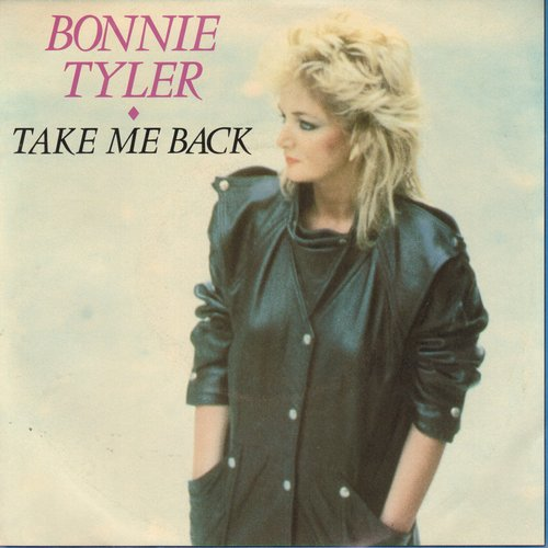 Tyler, Bonnie - Take Me Back/Getting So Excited (with picture sleeve) - M10/EX8 - 45 rpm Records