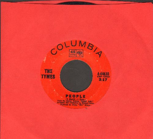 Tymes - For Love Of Ivy/People  - VG7/ - 45 rpm Records