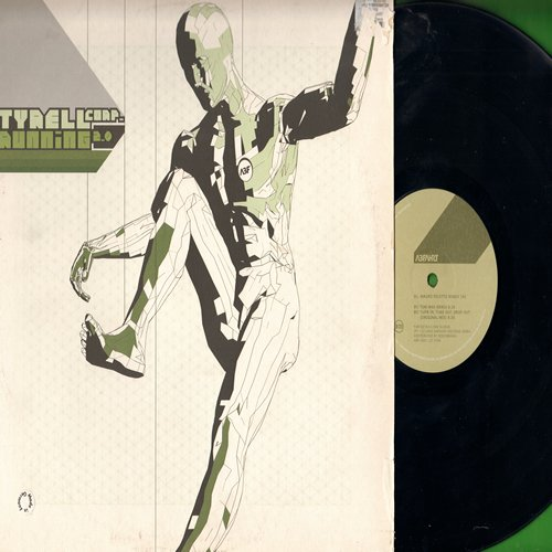 Tyrell - Running 2000 - 12 inch vinyl Maxi Single with picture cover (German Pressing) - NM9/EX8 - Maxi Singles