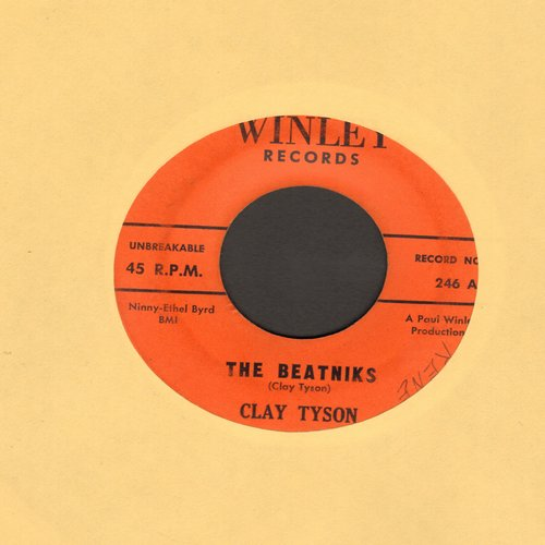 Tyson, Clay - The Beatniks/The Marching Bedbugs - VG7/ - 45 rpm Records