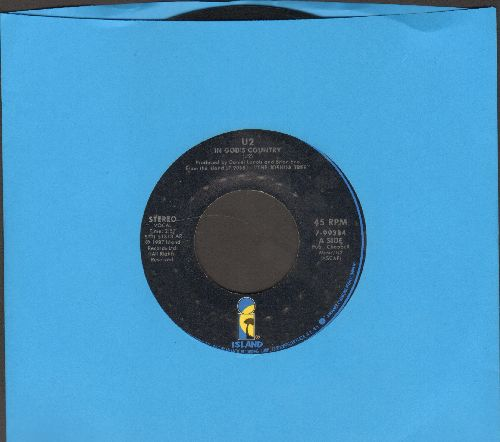 U2 - In God's Country/Bullet The Blue Sky - EX8/ - 45 rpm Records