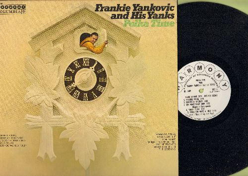 Yankovic, Frankie & His Yanks - Polka Time: Clarinet Polka, Tinker Polka, Barbara Polka, The Woodpecker Song (Vinyl LP record, DJ advance pressing) - NM9/EX8 - LP Records
