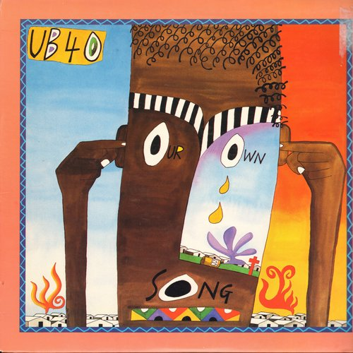 UB40 - Sing Our Own Song (8:26 minutes version + 6:50 minutes Dep Mix) (12 inch 45rpm Maxi Single with picture cover) - M10/EX8 - Maxi Singles