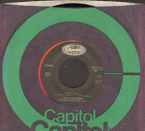 Yorgesson, Yogi - I Yust Go Nuts At Christmas/Yingle Bells (re-issue with Capitol company sleeve) - NM9/ - 45 rpm Records