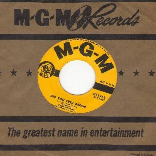 Uggams, Leslie - Did You Ever Dream/Meet My Friend, Mr. Sun (with vintage MGM company sleeve) - NM9/ - 45 rpm Records