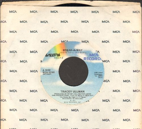 Ullman, Tracey - Break-A-Way/Long Live Love) (with MCA company sleeve) - NM9/ - 45 rpm Records