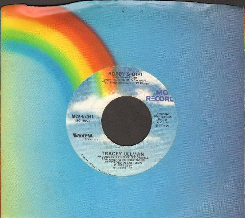 Ullman, Tracey - Bobby's Girl/Oh, What A Night (with MCA company sleeve) - NM9/ - 45 rpm Records