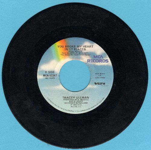 Ullman, Tracey - They Don't Know/You Broke My Heart In 17 Places (wol) - EX8/ - 45 rpm Records