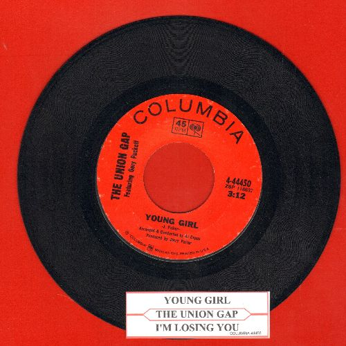 Union Gap - Young Girl/I'm Losing You (with juke box label) - EX8/ - 45 rpm Records