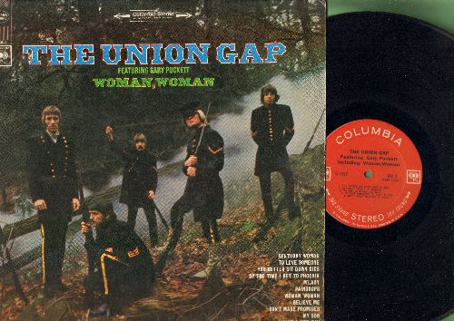 Union Gap - The Union Gap Featuring Gary Puckett: Woman Woman, You Better Sit Down Kids, To Love Someone, By The Time I Get To Phoenix (Vinyl STEREO LP record) - NM9/EX8 - LP Records