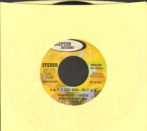 Hunnicutt/Morse & The Fastest Band Alive - If It Feels Good - Do It/Keep On Keepin' On (DJ advance pressing) - EX8/ - 45 rpm Records
