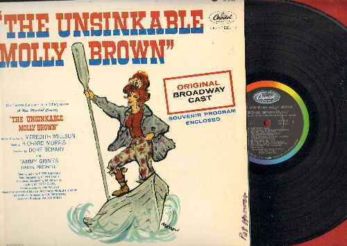 The Unsinkable Molly Brown - The Unsinkable Molly Brown - Original Broadway Cast (Vinyl MONO LP record) (minor wol/woc) - NM9/NM9 - LP Records