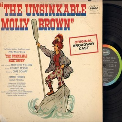 The Unsinkable Molly Brown - The Unsinkable Molly Brown - Original Broadway Cast Recording (Vinyl MONO LP record) - EX8/VG6 - LP Records