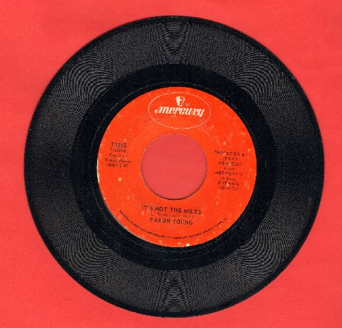 Young, Faron - It's Not The Miles/It's Four In The Morning - NM9/ - 45 rpm Records