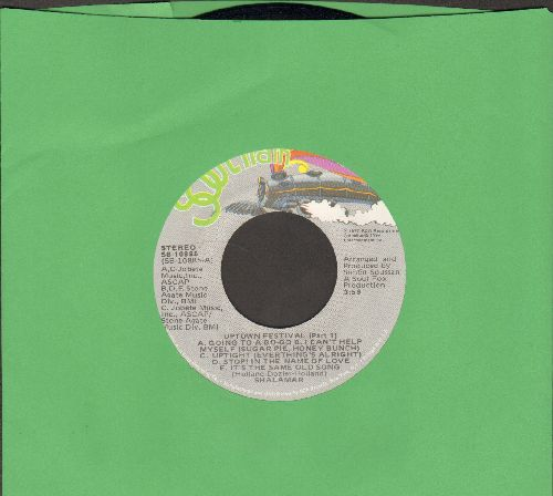 Shalamar - Uptown Festival (Parts 1 + 2) (Motown Medley Disco Classic) - NM9/ - 45 rpm Records