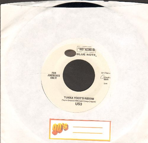 US3 - Tukka Yoot's Riddim/I Got To Work - NM9/ - 45 rpm Records
