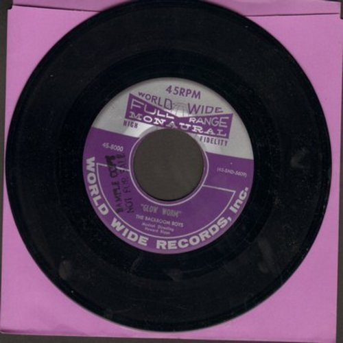 Backroom Boys - Glow Worm/Ida - NM9/ - 45 rpm Records