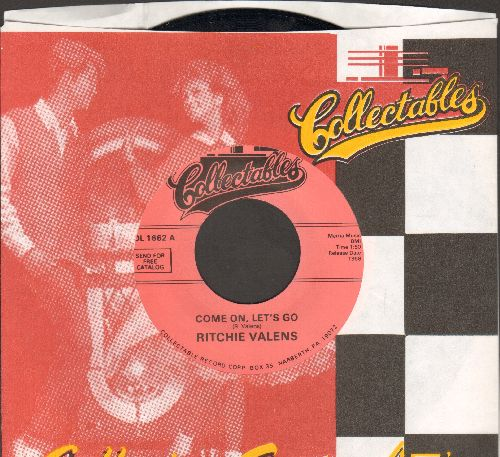 Vanens, Ritchie - Come On, Let's Go/Framed (double-hit re-issue with Collectables company sleeve) - NM9/ - 45 rpm Records