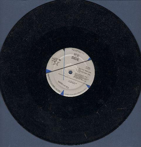 Vanilla Ice - Stop That Train/I Love You (5 Extended Dance Club Tracks on 12 inch vinyl Maxi Single) - VG7/ - Maxi Singles
