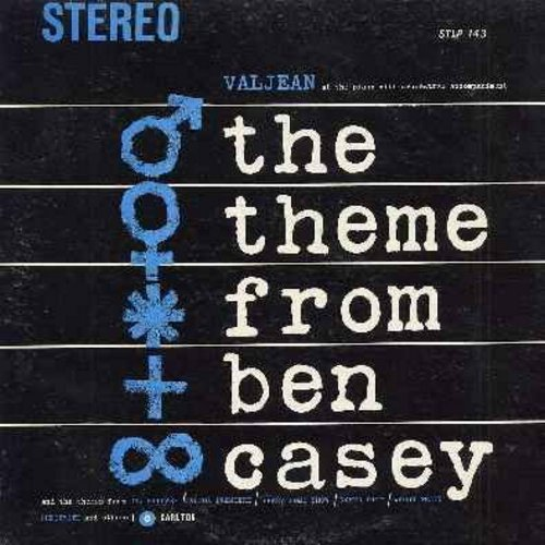Valjean - The Theme From Ben Casey: Dr. Kildare, Wagon Train, Bonanza, Peter Gun, Gunsmoke, Perry Como Show, Naked City (Vinyl STEREO LP record) - NM9/EX8 - LP Records