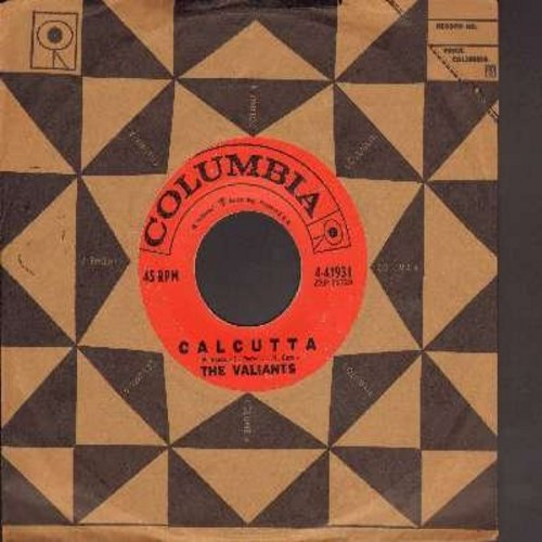 Valients - Calcutta/Honky Tonk Joe (with vintage Columbia company sleeve) - EX8/ - 45 rpm Records