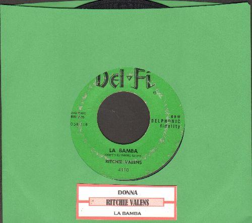 Valens, Ritchie - La Bamba/Donna (green label, black logo) - VG7/ - 45 rpm Records