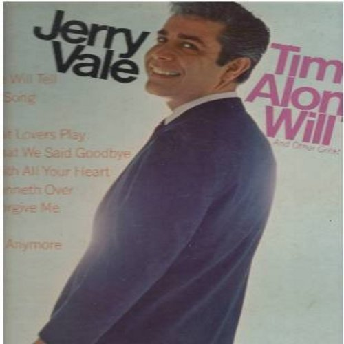 Vale, Jerry - Time Alone Will Tell: Born Free, My Cup Runneth Over, Love Me With All Your Heart, This Is My Song (Vinyl MONO LP record) - NM9/EX8 - LP Records