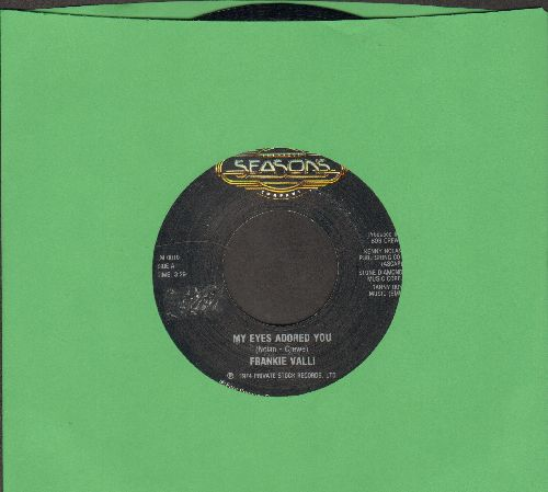 Valli, Frankie - My Eyes Adored You/Swearin' To God (double-hit re-issue) - NM9/ - 45 rpm Records