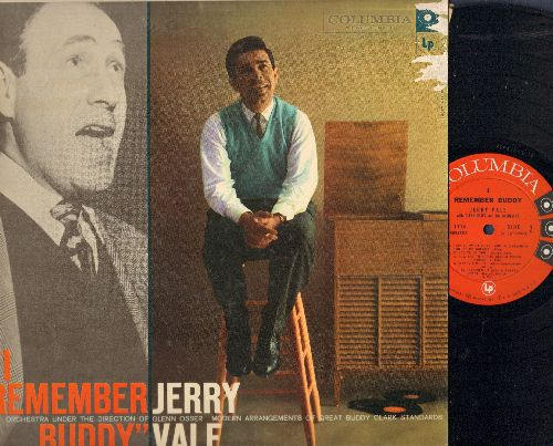 Vale, Jerry - I Remember Buddy: Linda, The Very Thought Of You, Sleepy Time Girl, It Had To Be You (vinyl MONO LP record) - NM9/VG7 - LP Records