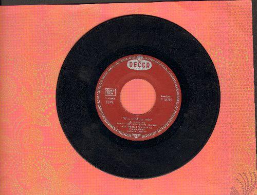 Valente, Caterina - Weisse Moewe, fliegt in die Ferne/Was wird aus mir? (What Now, My Love) (German Pressing) - VG7/ - 45 rpm Records