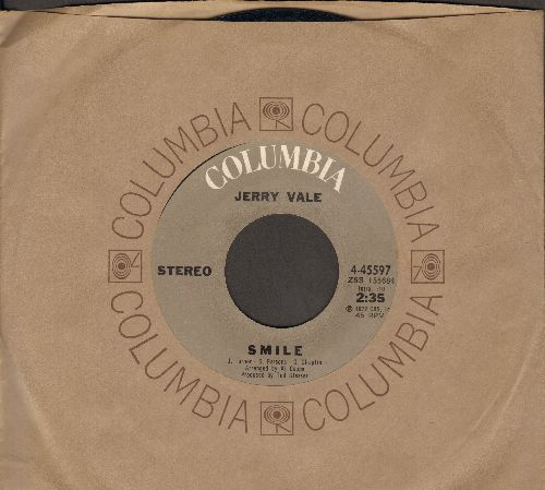 Vale, Jerry - Smile/All I Ever Wanted (with Columbia company sleeve) - NM9/ - 45 rpm Records