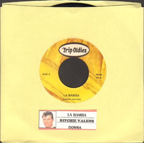 Valens, Ritchie - La Bamba/Donna (re-issue with juke box label) - EX8/ - 45 rpm Records