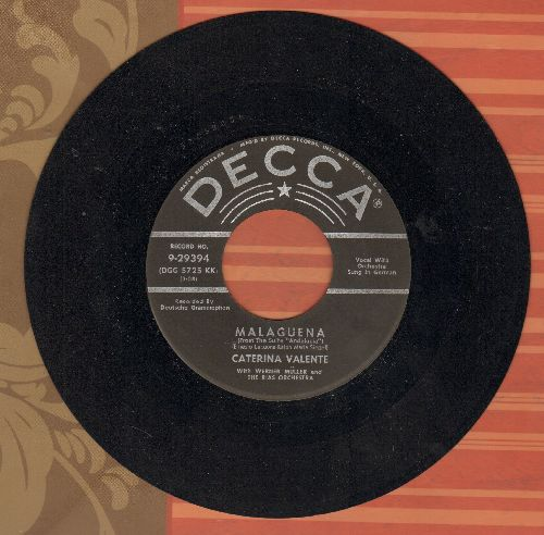 Valente, Caterina - Malaguena/Mambo From Chile (US Pressing) - VG7/ - 45 rpm Records