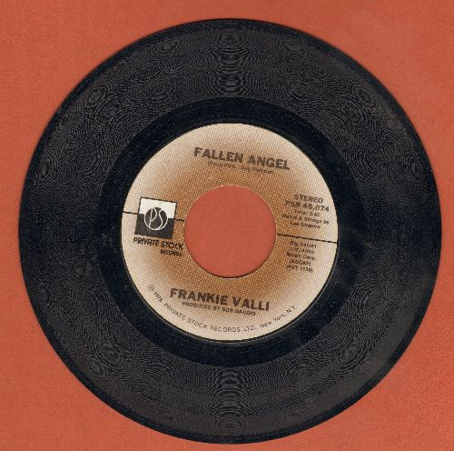 Valli, Frankie - Fallen Angel/Carrie  - EX8/ - 45 rpm Records