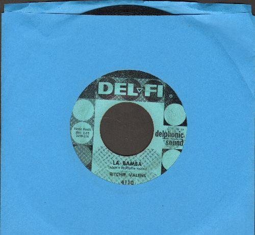 Valens, Ritchie - La Bamba/Donna (light blue) - VG6/ - 45 rpm Records