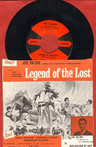 Valino, Joe - Declaration Of Love/Legend Of The Lost (with picture sleeve) - NM9/EX8 - 45 rpm Records