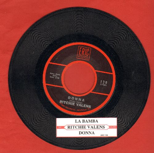 Valens, Ritchie - La Bamba/Donna (re-issue with juke box label) - VG7/ - 45 rpm Records
