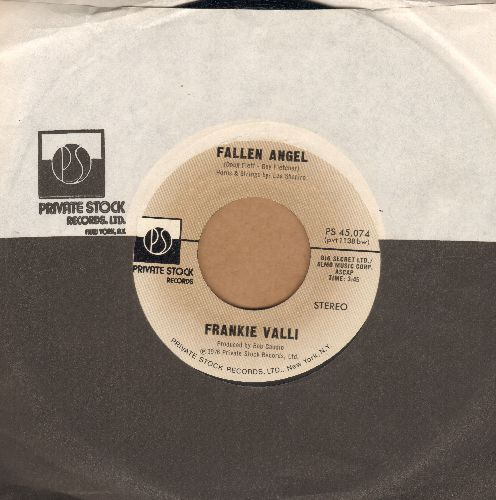 Valli, Frankie - Fallen Angel/Carrie (with Private Stock company sleeve) - EX8/ - 45 rpm Records