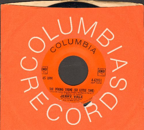 Vale, Jerry - On And On/The Peking Theme (So Little Time)(with Columbia company sleeve) - EX8/ - 45 rpm Records