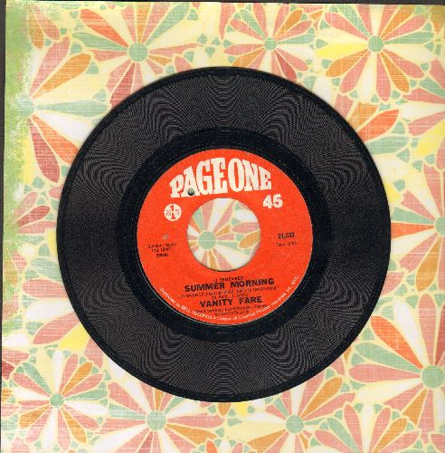 Vanity Fare - (I Remember) Summer Morning/Megowd (bb) - EX8/ - 45 rpm Records