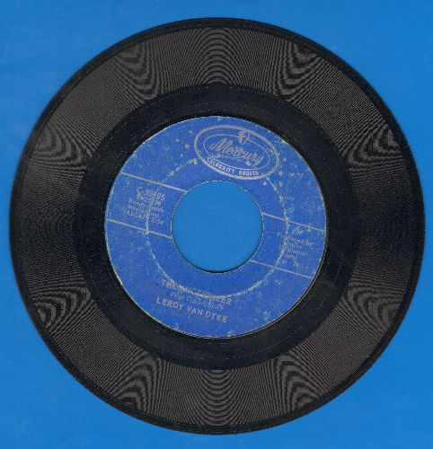 Van Dyke, Leroy - Auctioneer/Walk On By (double-hit re-issue) - NM9/ - 45 rpm Records