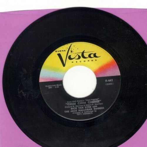 Van Dyke, Dick - Chim Chim Cheree/Step In Time - NM9/ - 45 rpm Records