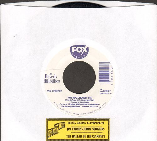 Varney, Jim/Jerry Scoggins - Hot Rod Lincoln/The Ballad Of Jed Clampett (both songs featured in film -The Beverly Hillbillies-)  - NM9/ - 45 rpm Records
