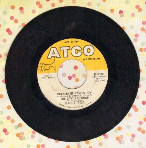 Vanilla Fudge - You Keep Me Hangin' On/Come By Day, Come By Night  - EX8/ - 45 rpm Records