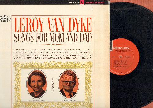 Van Dyke, Leroy - Songs For Mom And Dad: Mama Sang A Song, An Old Log Cabin For Sale, These Hands, Mother (A Word That Means The World To Me0, Tomorrow We'll Retire (vinyl STEREO LP record) - NM9/EX8 - LP Records