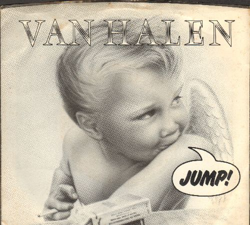 Van Halen - Jump/House Of Pain (with picture sleeve and juke box label) - EX8/EX8 - 45 rpm Records