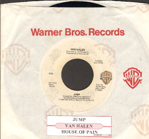 Van Halen - Jump/House Of Pain (with juke box label and company sleeve) - NM9/ - 45 rpm Records