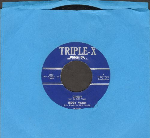 Vann, Teddy - Cindy/I'm Waiting - NM9/ - 45 rpm Records